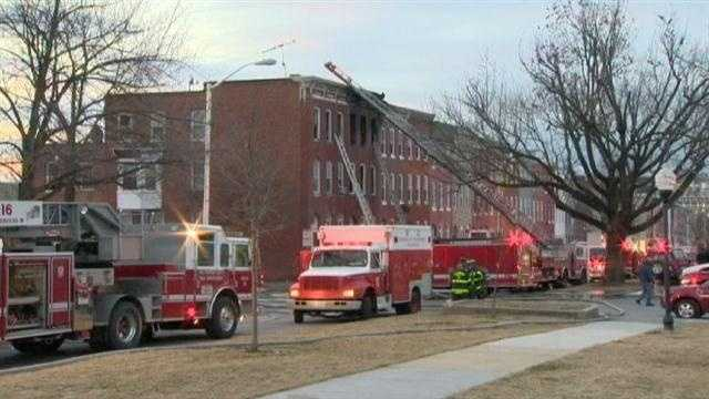 Fire and arson officials are still investigating the cause and trying to determine if there were any smoke alarms inside the building.