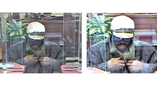 Anne Arundel County police are looking for a robber who struck at a Capital One Bank in Severna Park.