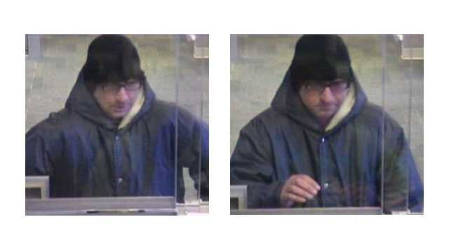 Bank robber M&T Bank in Edgewater