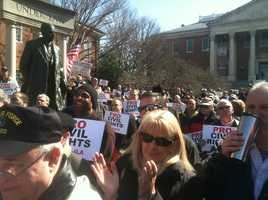 March 5 gun rights rally on Lawyer's Mall