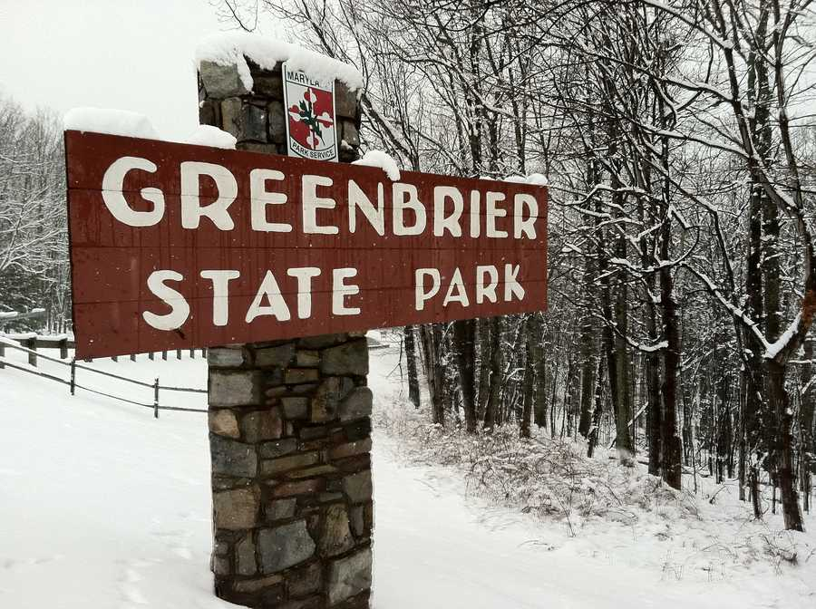 Greenbrier State Park along Route 40 between Frederick and Hagerstown.