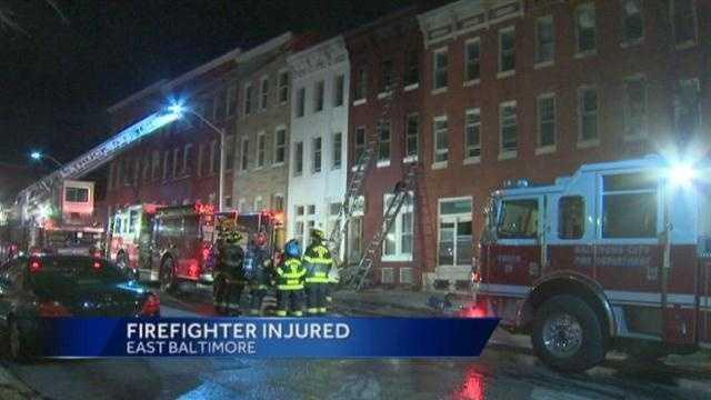 East Lafayette Avenue fire
