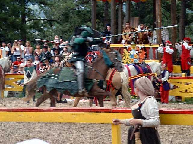Jousting is the state sport