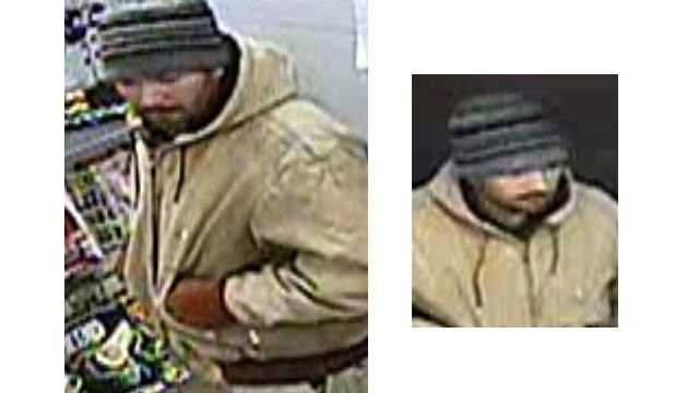 Baltimore County police are asking for the public's help to find a man wanted in an armed robbery at a 7-Eleven store.
