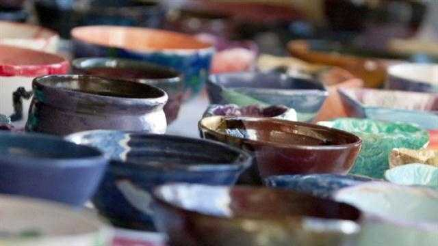 Join WBAL-TV in supporting St. Vincent de Paul's annual fundraiser, Empty Bowls.