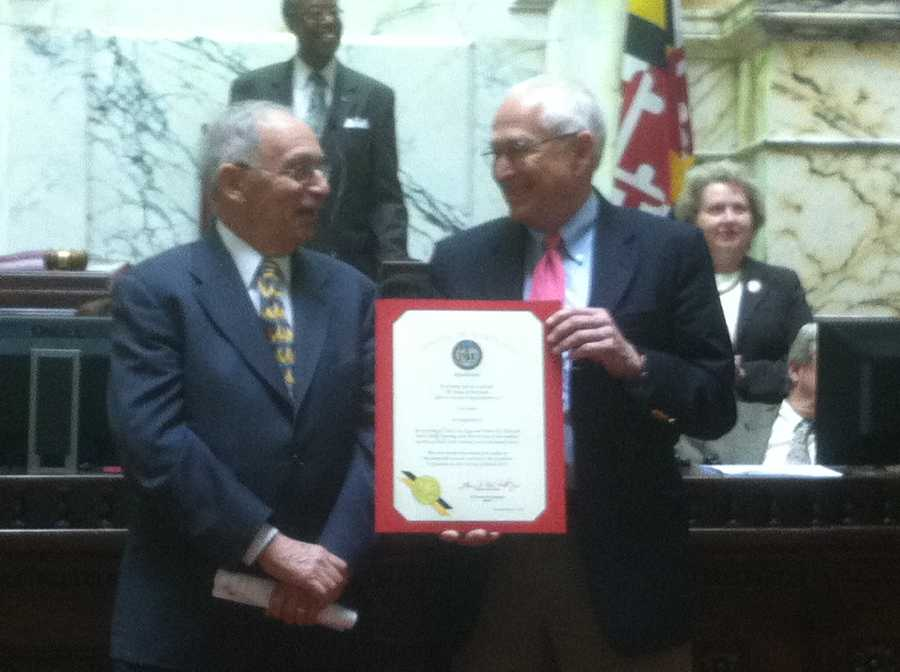 March 15: The Senate honors long-time State House reporter Lou Davis.
