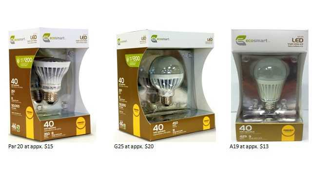 recalled LED light bulbs 3-20