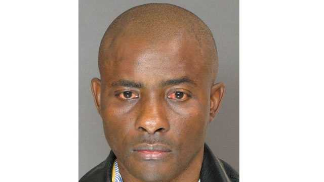 Officials say Raphael Nyong Asinyang, 43, was arrested in connection with abusing an 84-year-old man at a Randallstown nursing home.