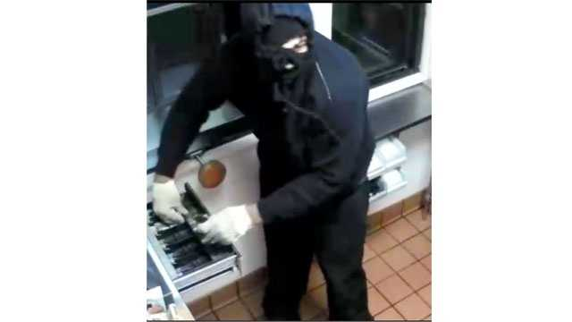 Authorities are looking for robbers who struck at an Edgewood. Burger King restaurant.