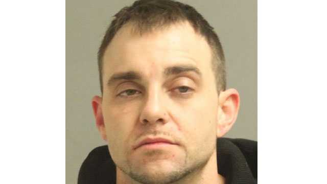 Police sayCasey Davis, 33, was arrested and faces charges following a drug bust.