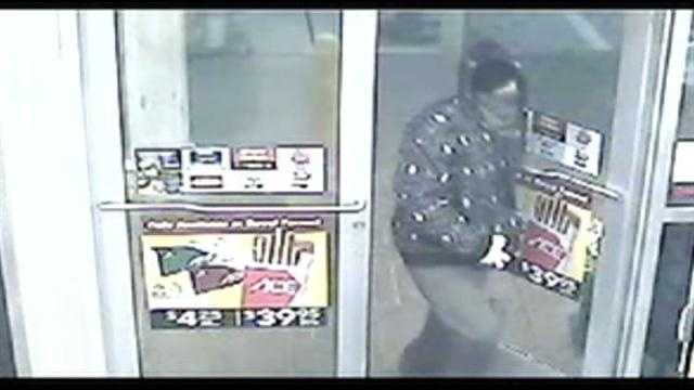 The Harford County Sheriff's Office releases surveillance video in regard to a robbery at a Royal Farms Store on March 21.