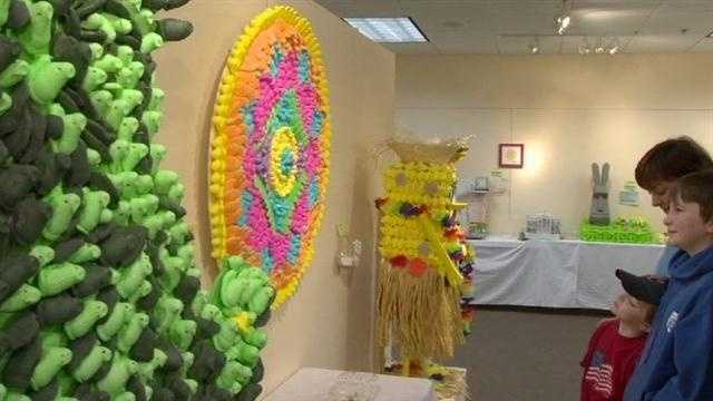 A springtime favorite -- the 6th annual Peep Show -- is back at the Carroll Arts Center in Westminster, and it's getting national attention for some of its most creative entries yet.