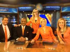 The 11 News Today team is ready for Opening Day, all decked out in their orange!