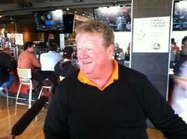 Boog Powell even showed up to show off his O's pride at Dempseys!