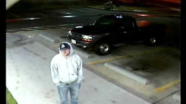 Harford County authorities release surveillance video of a man wanted in connection with an armed robbery.