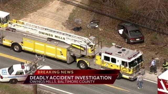 Owings Mills fatal crash