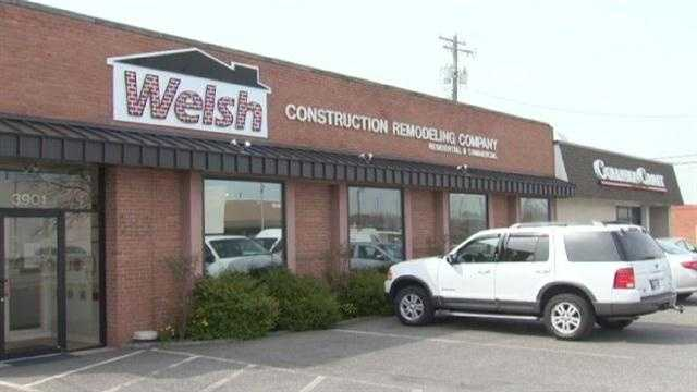 Employees at Welsh Construction Remodeling are told they're out of a job.