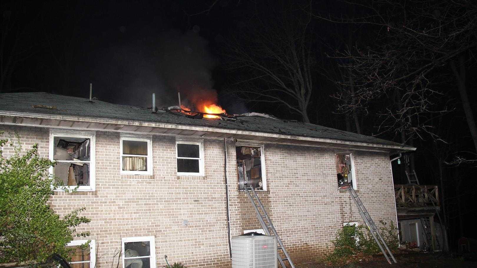 Ellicott City house fire