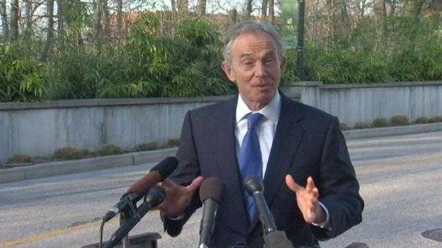 TONY BLAIR VISIT
