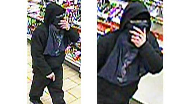 Harford County Sheriff's Office said it is looking for an armed robber who struck at a 7-Eleven in Abingdon.