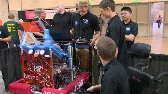 Beach Bots robotics competition