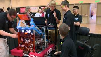 """Normally, you wouldn't think someone like Skylar would contribute to building a robot, but he has incredible ideas, and he models it, which is extremely helpful to visualize what we're actually going to build,"" Beck said."