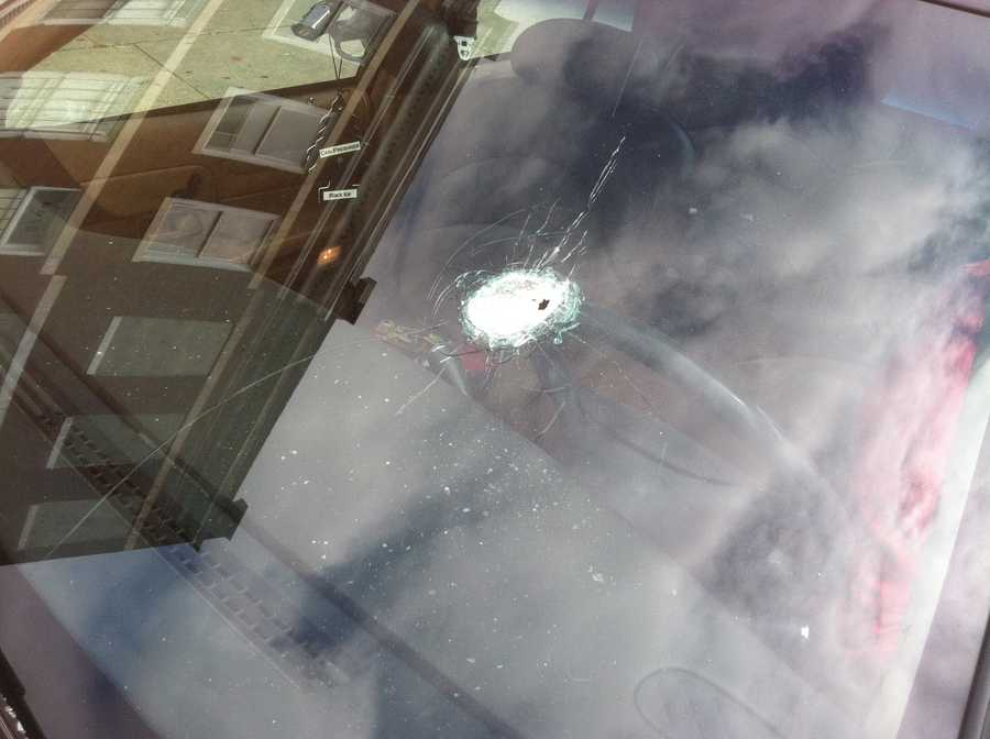Another bullet hole