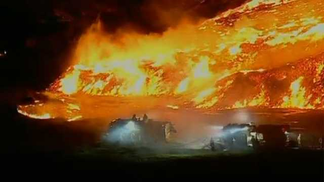 Upper Marlboro mulch fire