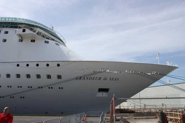 The Grandeur replaces the Enchantment of the Seas.