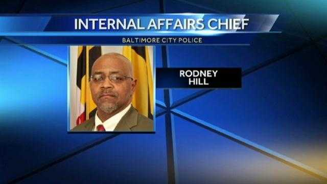 New Baltimore City police Internal Affairs Chief Rodney Hill.