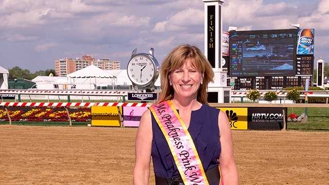 Sue Steel has been named 2013 Ms. Preakness Pink Warrior for the 138th Preakness Stakes.