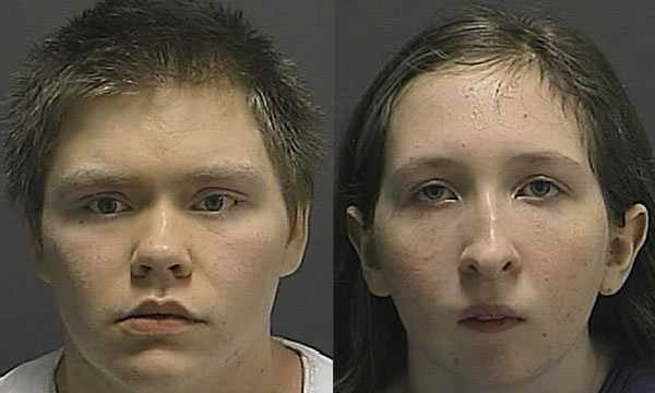 Police say Jason Anthony Bulmer, 19, and Morgan Lane Arnold, 14, killed Arnold's father.