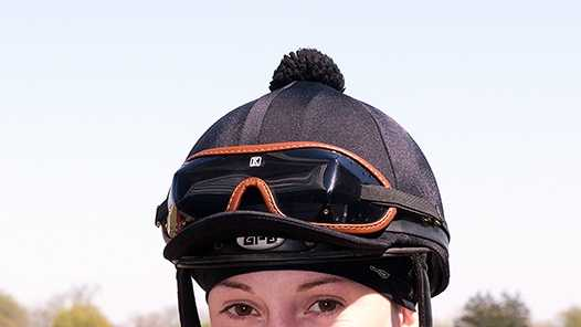 Kristina McManigell is one of eight riders involved in Friday's battle Of The Sexes Jockey Challenge at Pimlico Race Course.