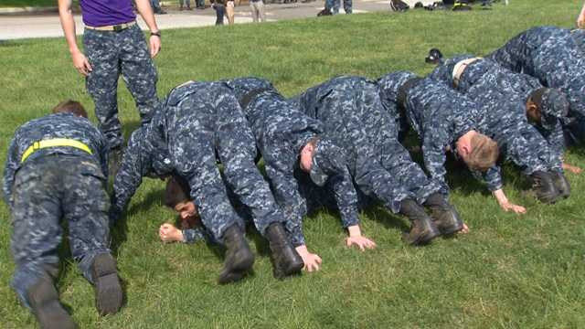"""It is a """"capstone"""" event for the fourth class midshipmen and serves as a leadership challenge for the upper class who lead each event during the exercise."""