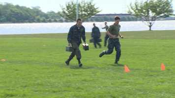 The overall exercise is designed to test the plebes' teamwork and reinforce their bonds as a company and class.