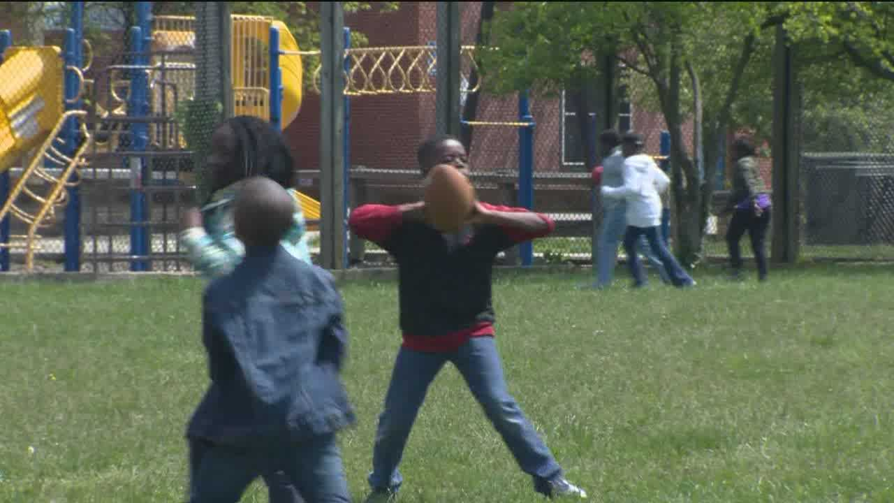 A new report shows that allowing students to spend more time on the playground during the school day may also cut down on bullying.