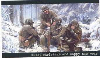 An old Christmas card.