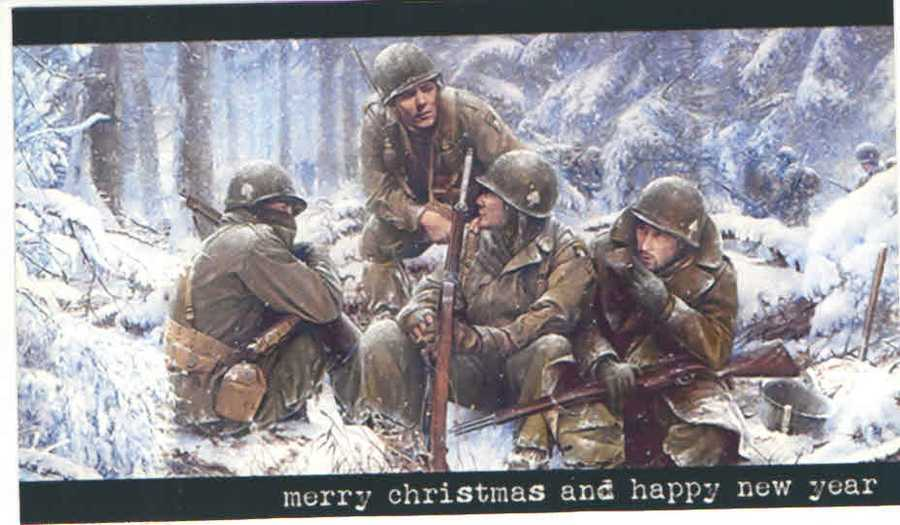 An old Christmas card.