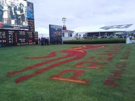 The infield at Preakness.