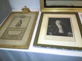 These are portraits of Elizabeth Patterson Bonaparte's family members.