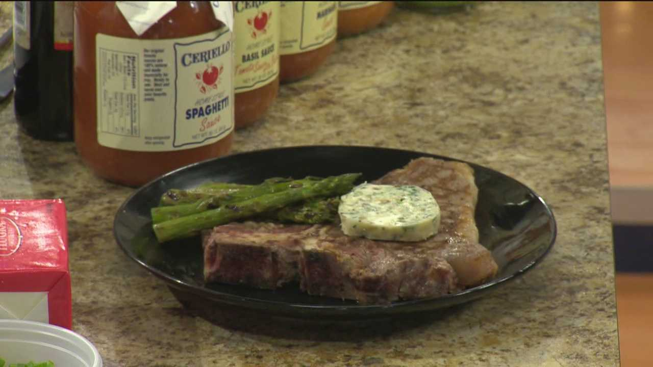 Preparing a perfect steak requires a really hot pan, says Russell Cobb from Ceriello Fine Foods.