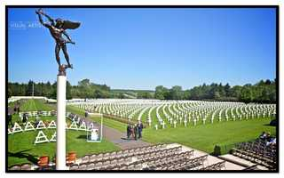 Every Memorial Day, a ceremony is held in remembrance of their sacrifices.