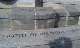 The World War II Memorial in Washington, D.C.
