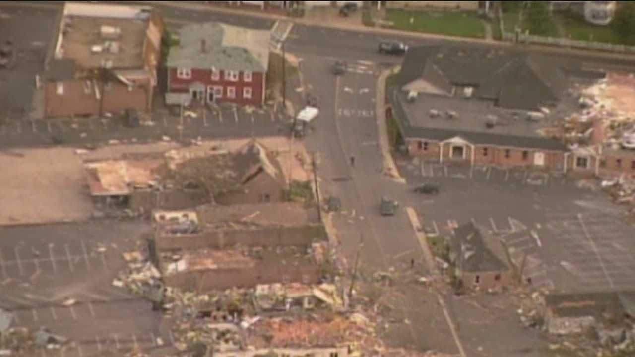 Survivors of Maryland's worst tornado in state history have since rebuilt, but the wounds still remain for many and they know exactly what residents in Oklahoma are going through.