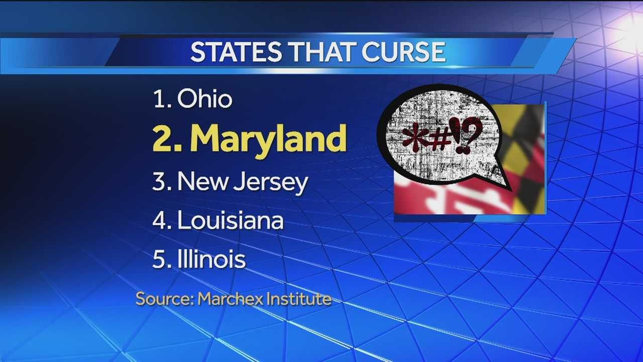 Cursing can happen to the best of us, but you might be surprised to hear how Maryland compares to other states when it comes to naughty words. Kate Amara has the details of a new report.