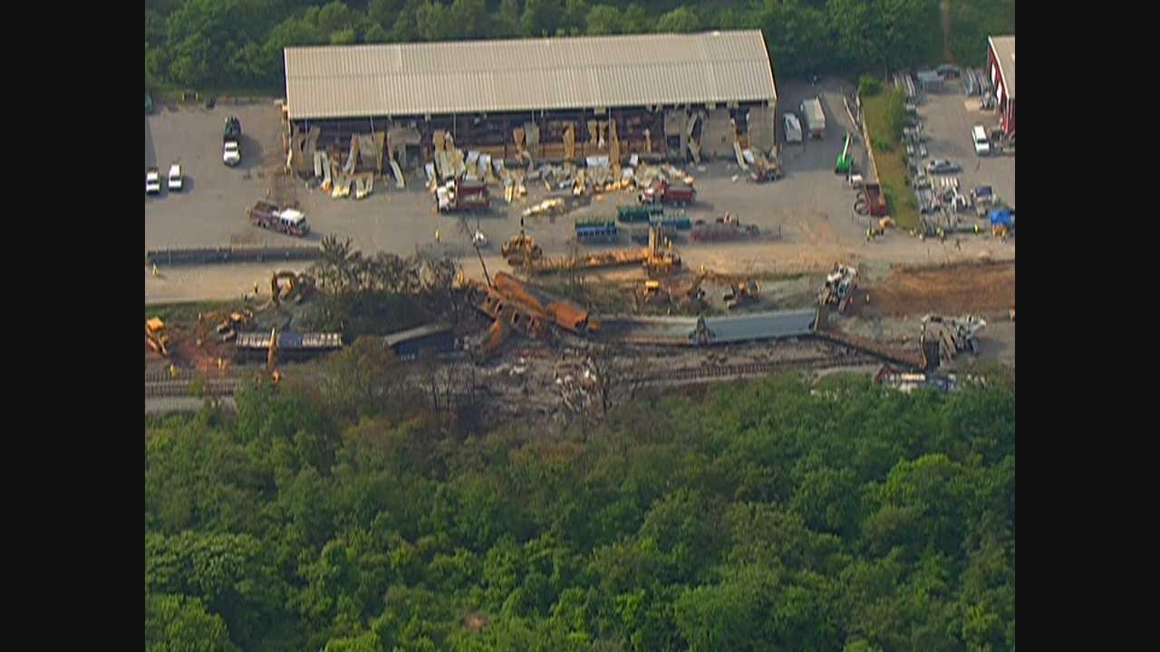 CSX cleans up as NTSB investigates derailment