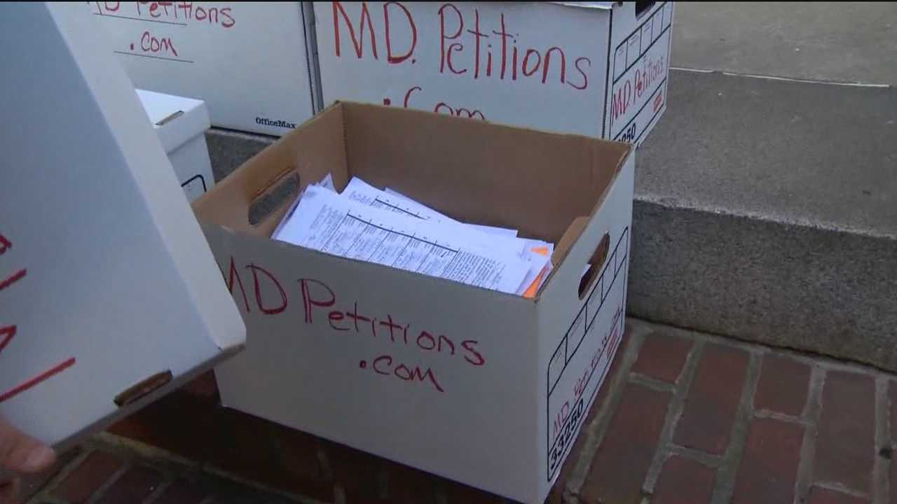 Tens of thousands of signatures fell a few short of putting on the ballot a referendum question to reinstate the death penalty in Maryland.