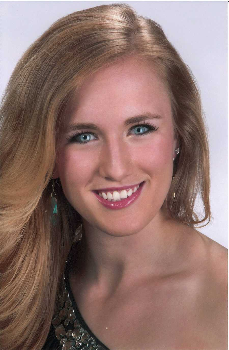 Maria Pifer, 18, Miss Free StateWounded Warrior Adaptive Sports ProgramVocal