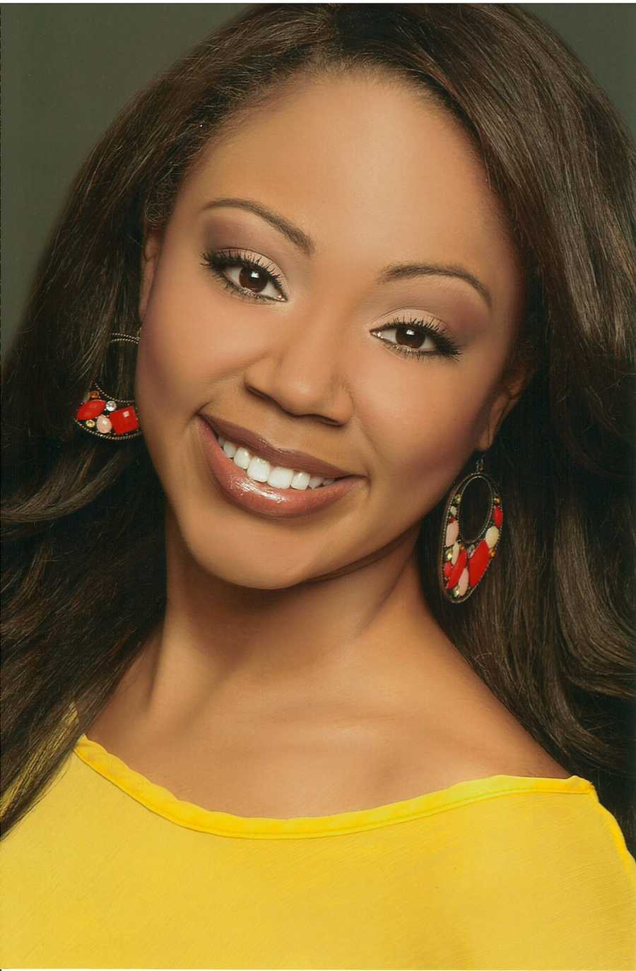 Elissa Taylor, 23, Miss University CityStopping a Silent Killer: Juvenile Diabetes Awareness and SupportVocal