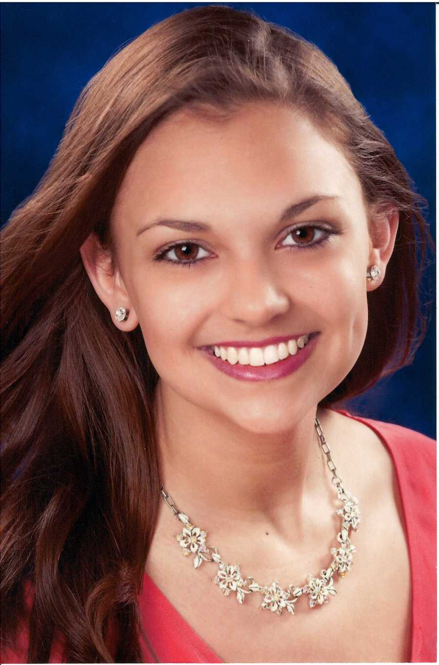 Paige Dutrow, 18, Miss Washington CountyEducation Beyond the ClassroomBaton Twirling